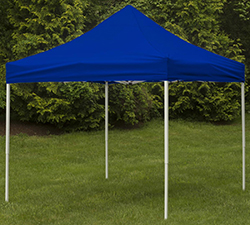 Canopy tent with pop-up design