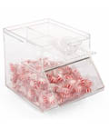 Clear Plastic Candy Jar