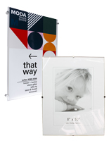 Glass Clip Photo Frames
