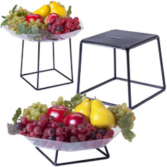 Buffet Display Risers