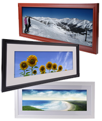 panoramic frames