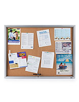 Glass Enclosed Bulletin Board