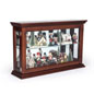 Holiday Decoration Propped Economy Wall Curio Cabinet