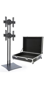 "70"" Screen Mounting Multi LED TV Stand"