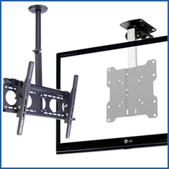 Ceiling brackets for TVs