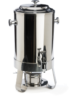 Stainless Steel Coffee Urn with Chafer and Built In Fuel Container