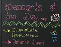 chalk markers used to create a daily specials menu