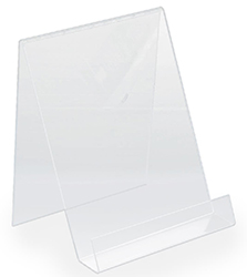 Photo frame stand in acrylic