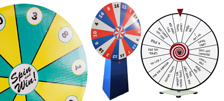 Prize Wheels Customizable Tools For The Office Or The