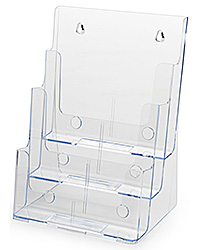 Injection-Molded Brochure Holder