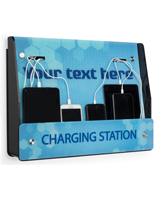 Wall Mount Mobile Charging Station for Hotels