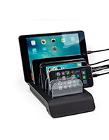 Multi-purpose 6 Port USB charging station