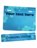 "Pre-Printed Replacement ""Charging Station"" Graphic"