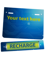 "Replacement ""Recharge"" Graphic in Full Color"