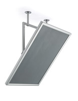 24 x 36 poster swivel ceiling mount frame