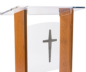 Podiums for Religious Groups