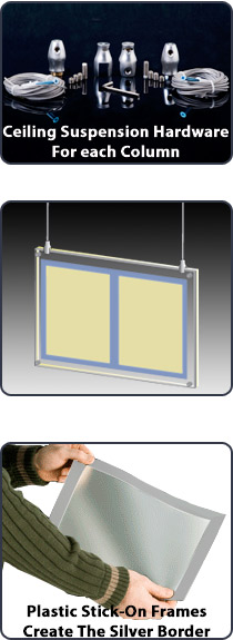 This Hanging Illuminated Sign Hangs In Storefront Windows Restaurants Can Exhibit An 8 1 2 X