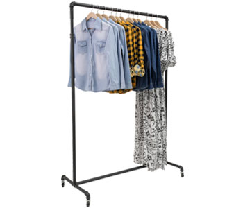 Racks for clothing and accessories