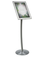 Outdoor Poster Pedestal for Curbsides
