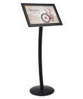 Outdoor Sign Pedestal for Prints