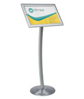 Outdoor Menu Pedestal for Advertisements
