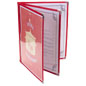 "Red 8.5"" x 11"" (3) Page Restaurant Menu Covers"