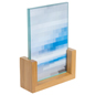 Bamboo Menu Holder for Promotions