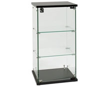Countertop Glass Display Case with Shelves