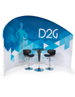 Trade Show Furniture and Graphics Kit, Dye-Sub Printing