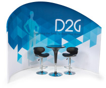 Trade Show Furniture and Graphics Kit for Seating