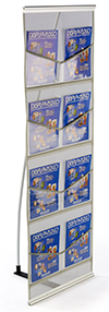 Collapsible Trade Show Literature Stands