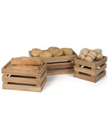 Rubber Wooden Produce Boxes
