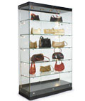 Use these display cases for collectibles in a home or retail store.