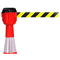 Cone Mounted Retractable Barrier, Nylon Belt