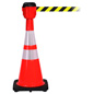 Traffic Cone with 15' Belt, Retractable