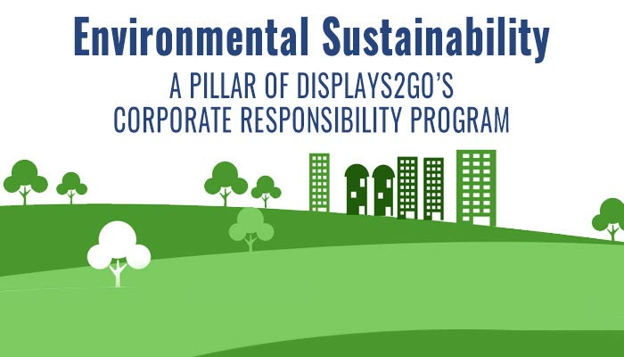 Displays2go's Corporate Responsibility