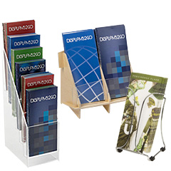 Countertop Brochure Holders