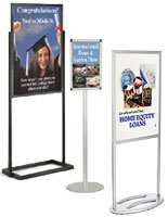 For other sign holders check out this huge selection of floor standing products.