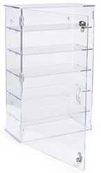 countertop acrylic display case