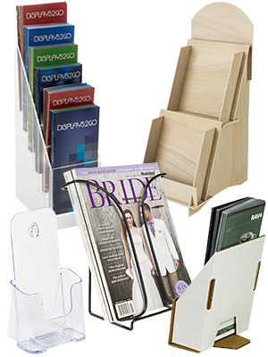 Countertop Literature Holders