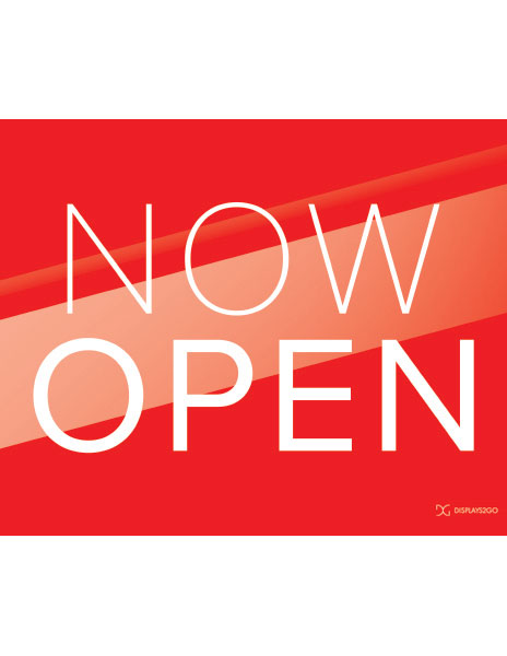 Now open printable sign