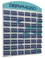 Branded Business Card Rack for Lobbies