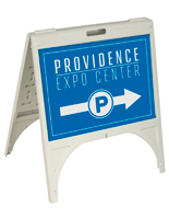 Outdoor Custom A-Frame Sign