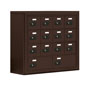 Locking Cell Phone Cabinet with 14 Compartments