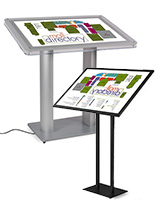lightbox stands