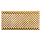 Diamond slotted designer wooden lattice slatwall