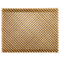 3D designer wood lattice slatwall display