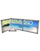 "Trade Show Truss Booth Kit, 94.70"" Overall Height"