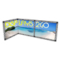 "Trade Show Truss Booth Kit, 113"" Overall Depth"