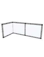 "Truss Trade Show Booth, 231.50"" Overall Width"